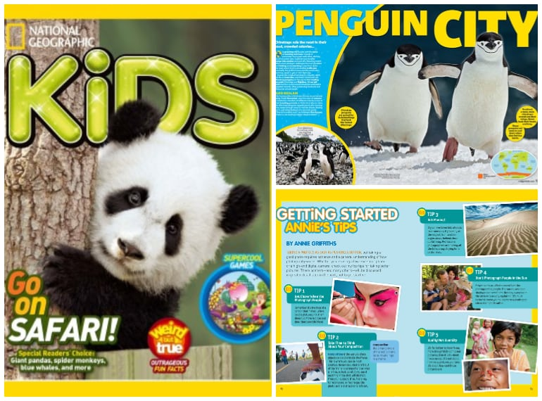 Subscriptions for kids' magazines in Singapore NAT GEO