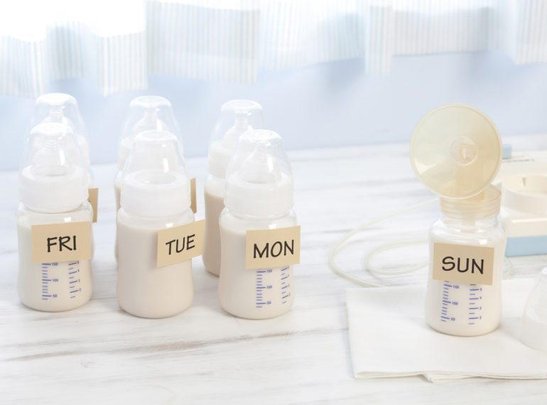 Life after maternity leave: Pumping breast milk at work