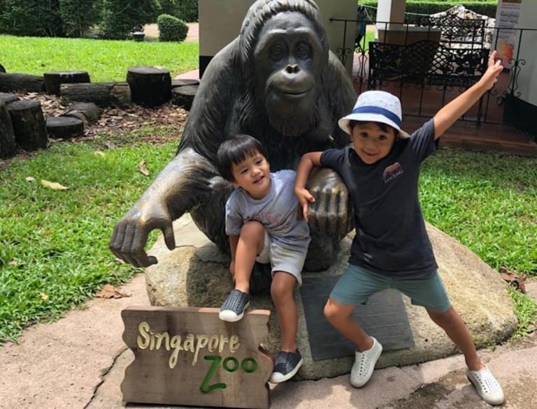 The best guide to Singapore Zoo with kids: what to see, do and eat!