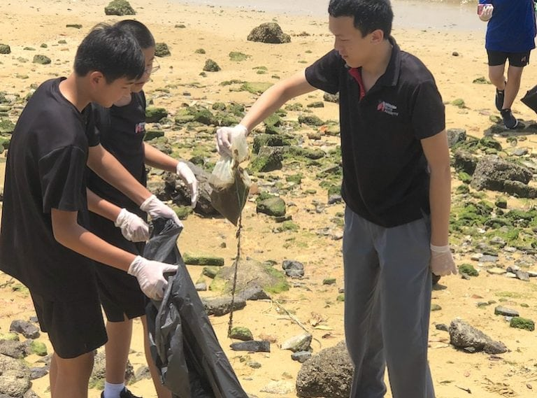 Community service and volunteering opportunities for kids in international schools in Singapore