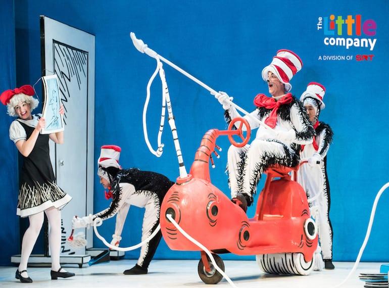Catch a Dr Seuss classic, The Cat In The Hat in Mandarin.