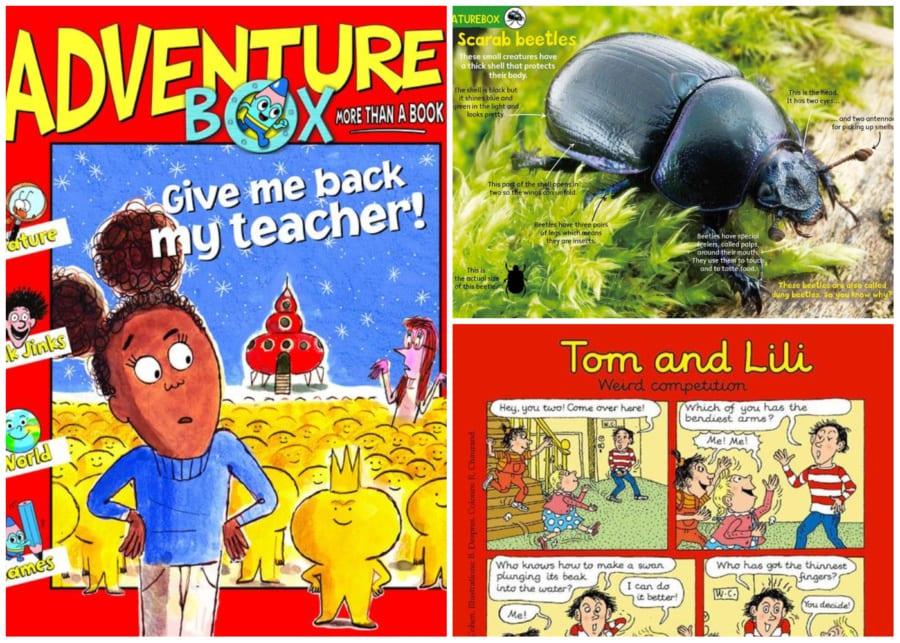 Adventure Box | kids magazines