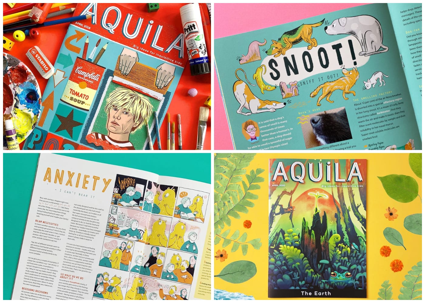 Aquila | magazine subscriptions for kids in singapore