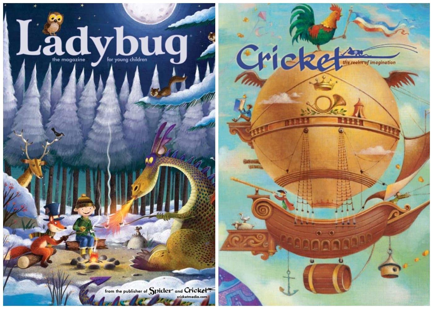 Babybug, Ladybug & Cricket | kids magazines