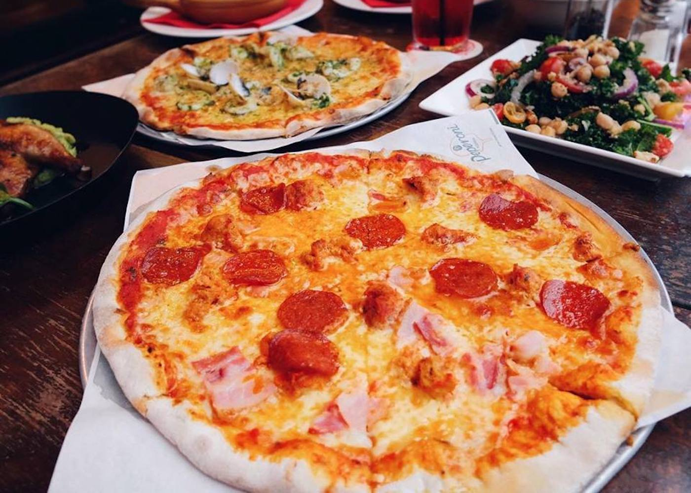 Family friendly pizza in Singapore: Peperoni Pizzeria