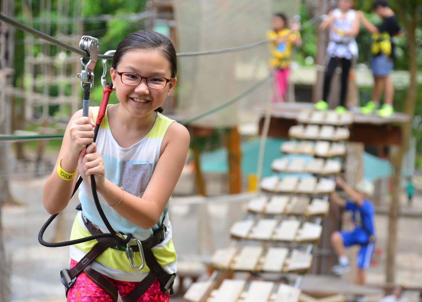 Adventure sports for kids in Singapore