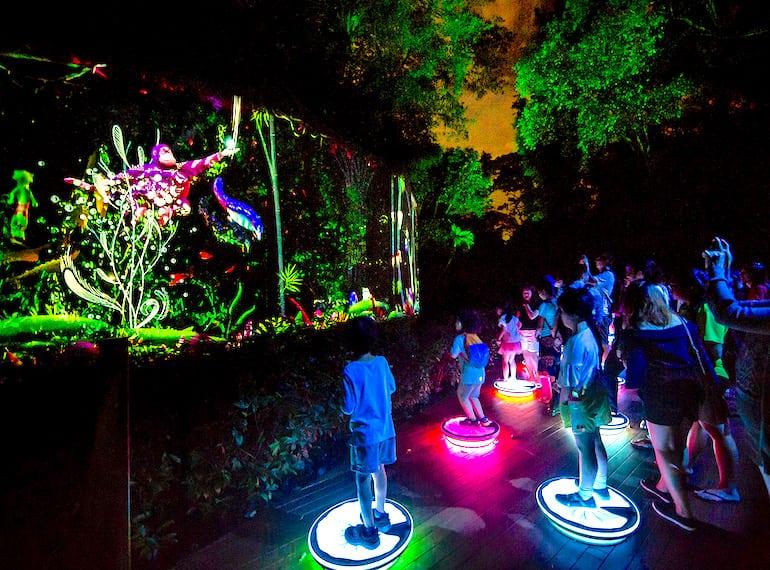 Rainforest Lumina SIngapore Zoo Honeykids Asia Singapore