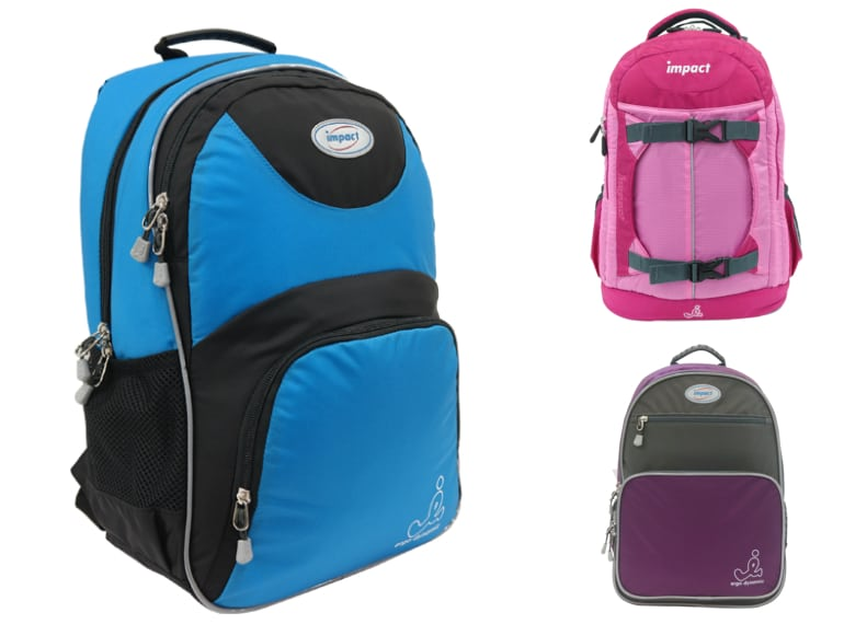 impact Ergonomic backpacks for kids Honeykids Asia Singapore