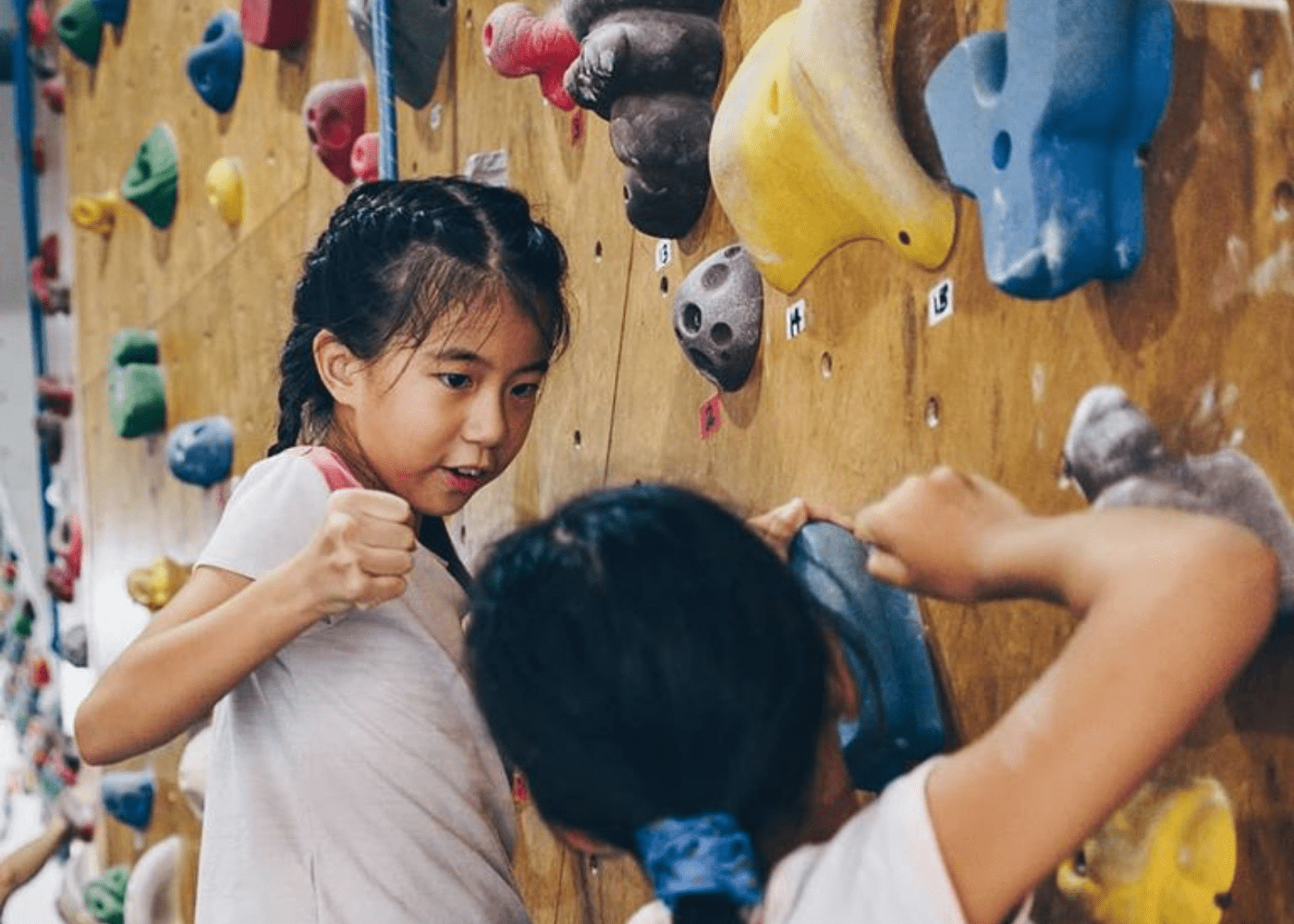 Kinetics Climbing   Adventure sports for kids in Singapore