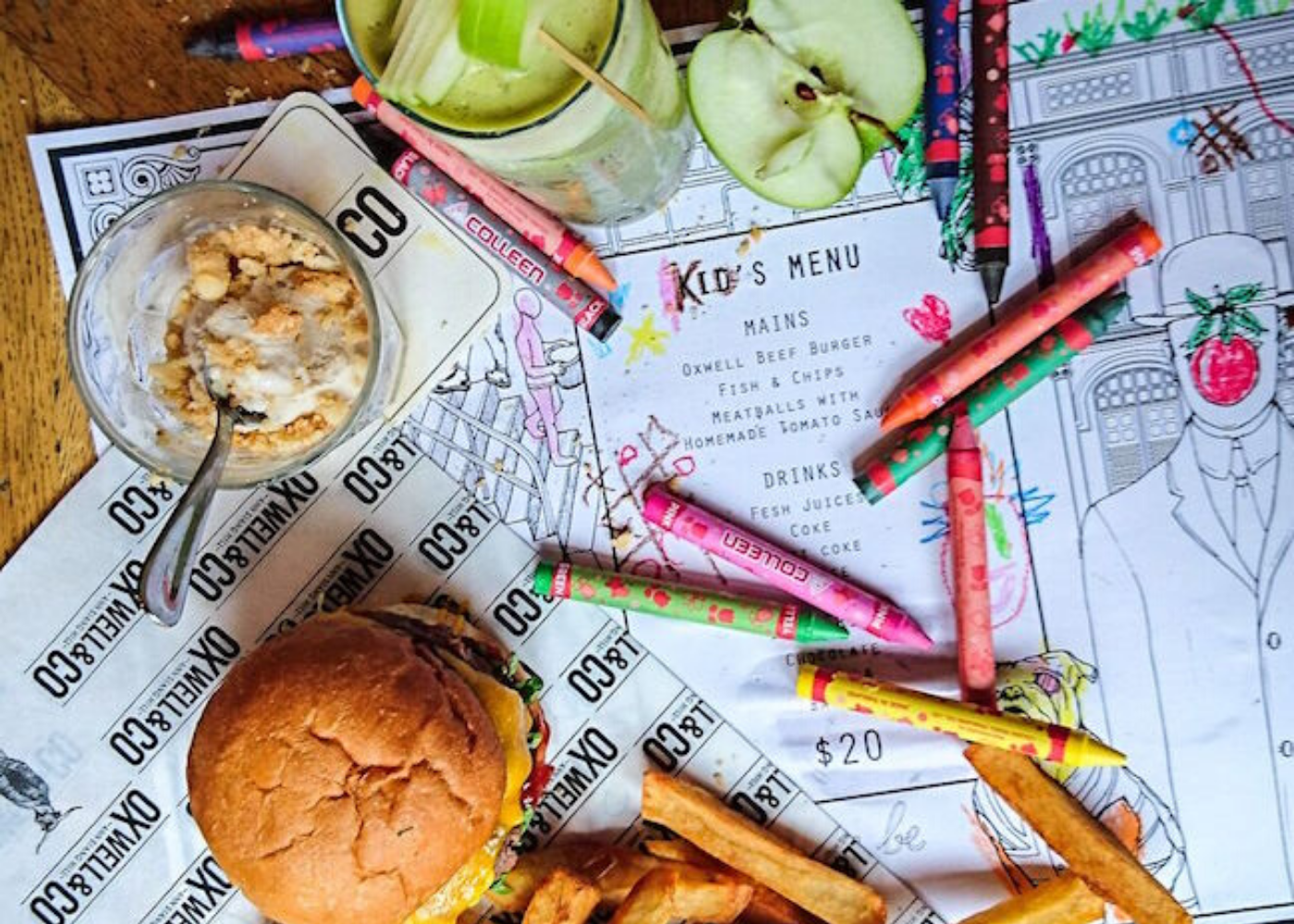 oxwell and co kid friendly burger joints