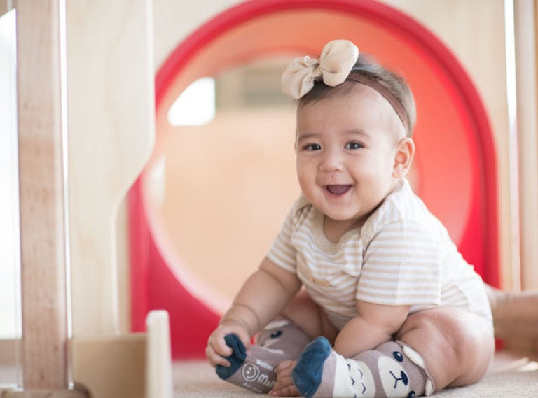 Why the new Infant Care program at the Early Learning Village is a haven for young children