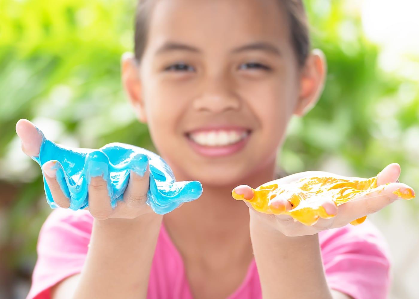 How to make slime and playdough for sensory play