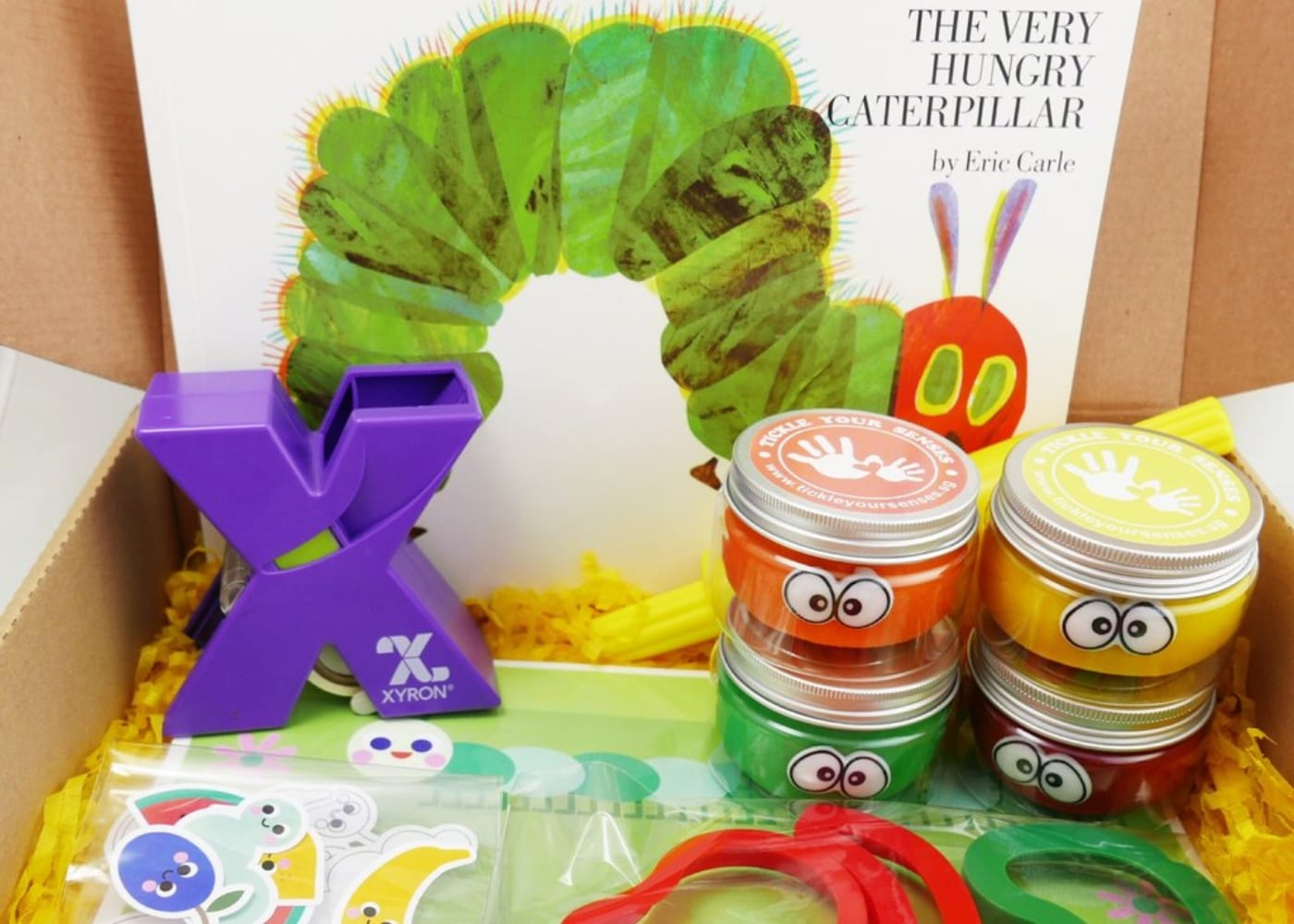 Slime sensory play Honeykids Asia Singap