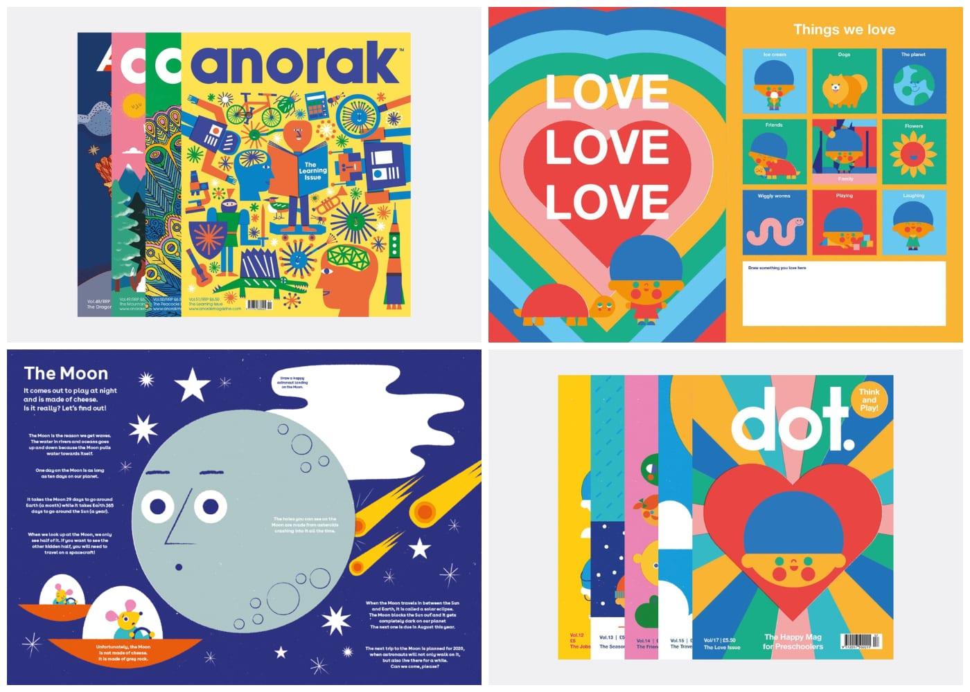Anorak Magazine & DOT | best kids magazines subscriptions