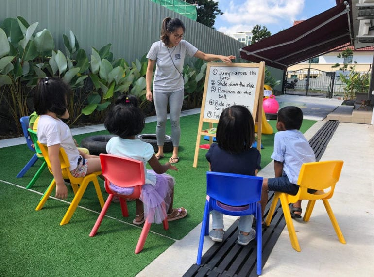The Growing Academy Early intervention Honeykids Asia Singapore