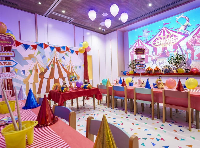 Best party venues for kids in Singapore: Buds by Shangri-La