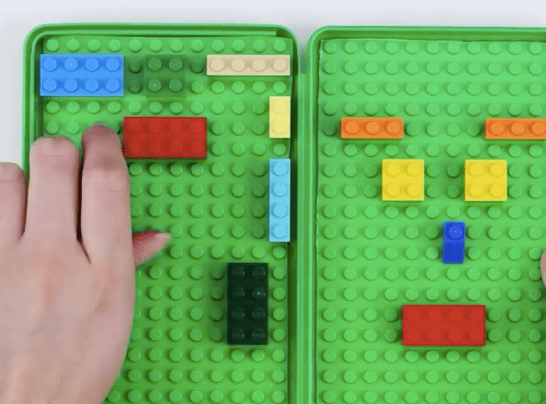 Blossom Lego busy book