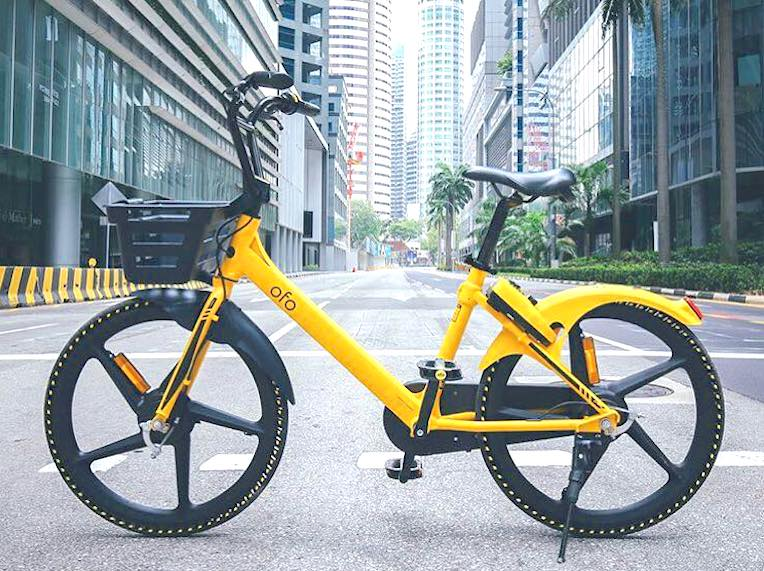 Bike sharing in Singapore HERO