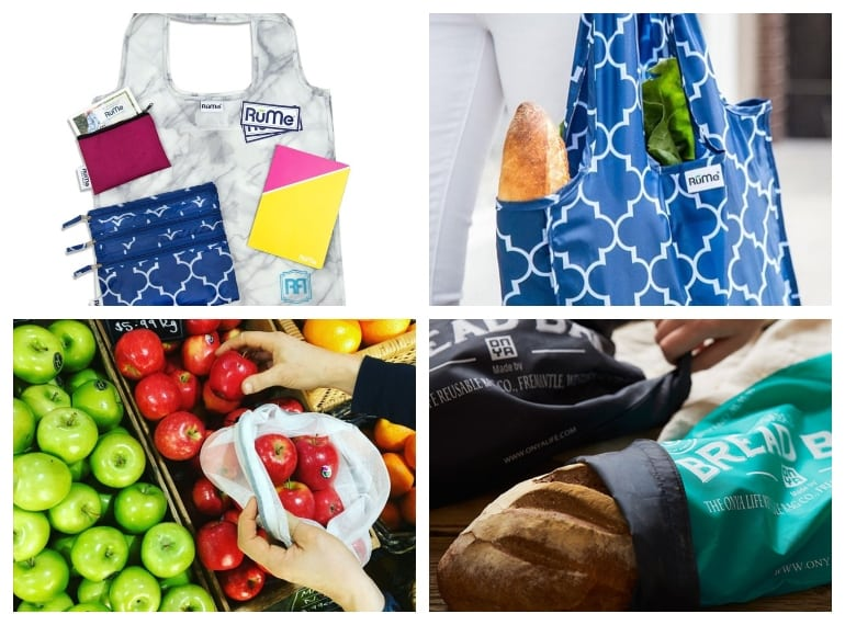 Rume and Onya reusable produce and shopping bags help reduce plastic waste in Singapore