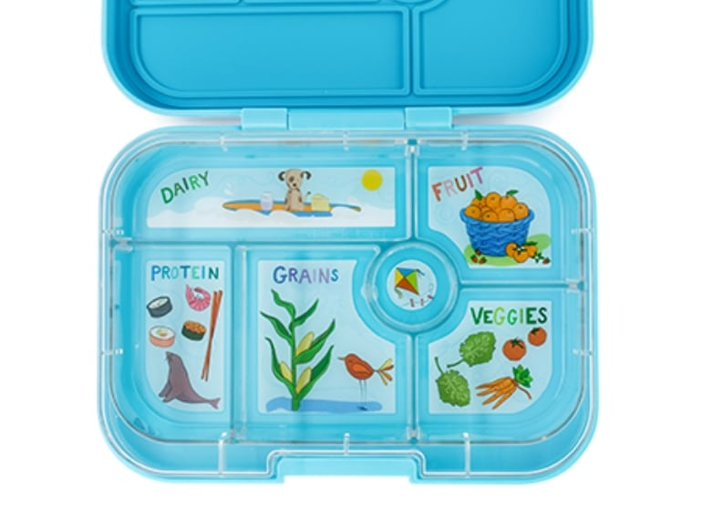 Yumbox Original kids lunchbox blue - kids lunchbox ideas
