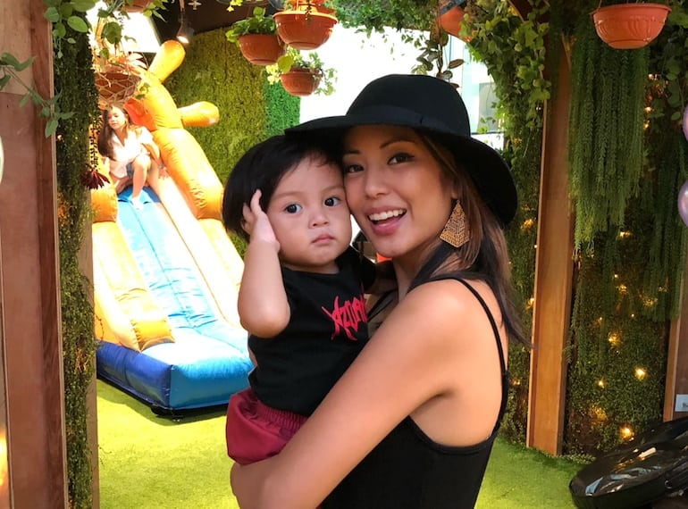 Cool mums in Singapore: Artist Amanda Lapus Santos talks to us about juggling work and parenting