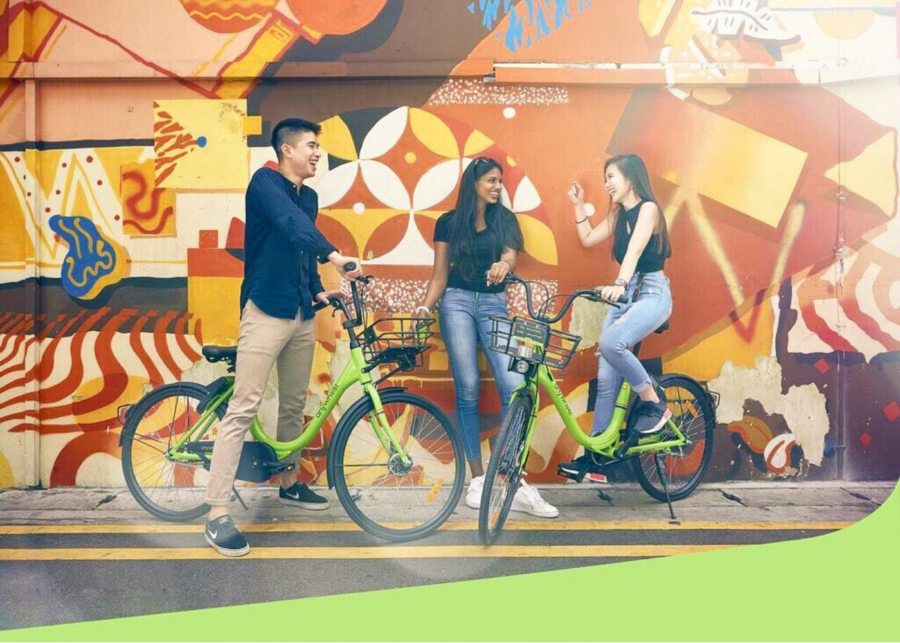 Anywheel | Cycle rental and bike sharing in Singapore