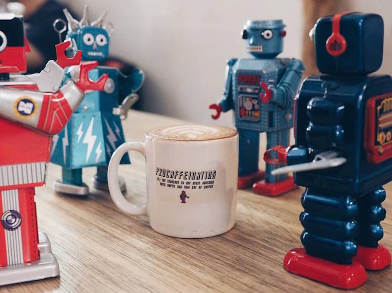 best coffee in singapore free the robot