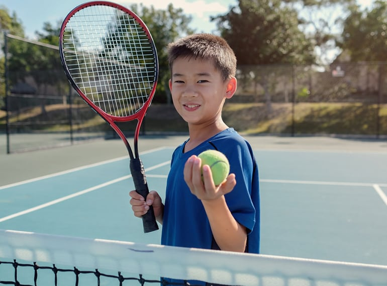The best tennis lessons for kids of all ages in Singapore