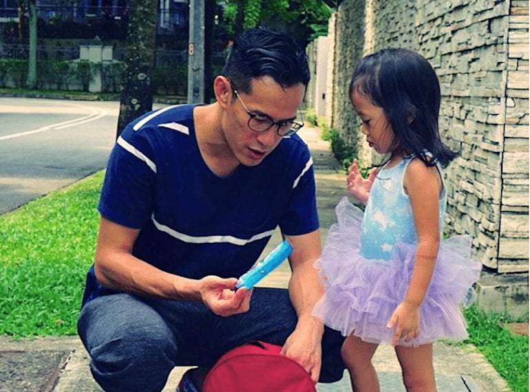Cool dads in Singapore: HoneyKids speaks to actor and father-of-two, Shane Mardjuki