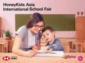 HoneyKids Asia International School Fair In Partnership with HSBC in Singapore 2018