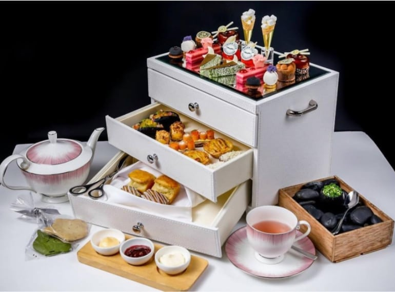 Anti:dote at Fairmont Singapore is one of the best afternoon teas in Singapore