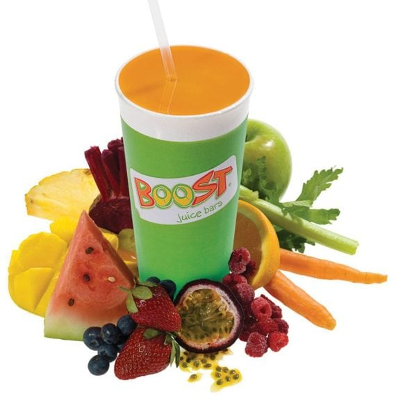 A healthy juice in Singapore from Boost Juice | Best smoothies and juices in Singapore