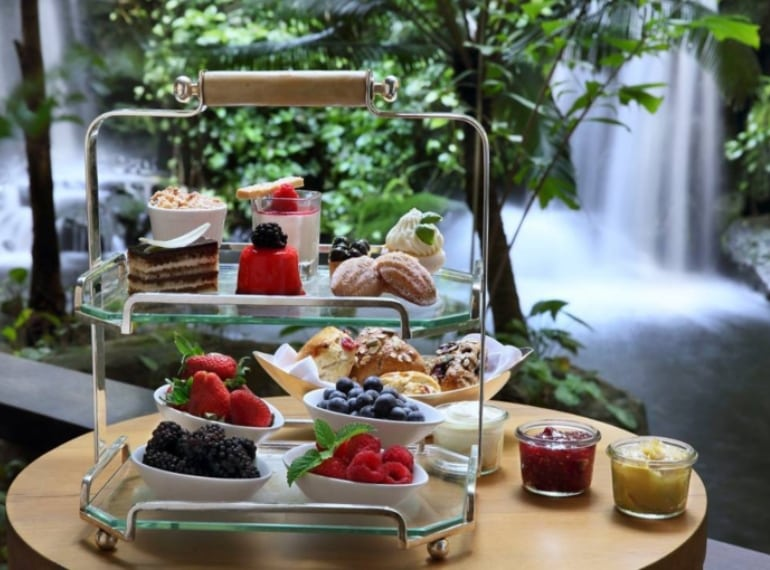 10 Scotts at Grand Hyatt Singapore is one of the best places for afternoon tea in Singapore