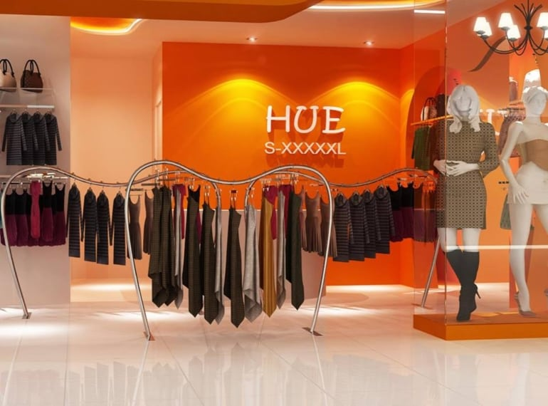 Hue Fashions has a great range of plus-size clothes in Singapore