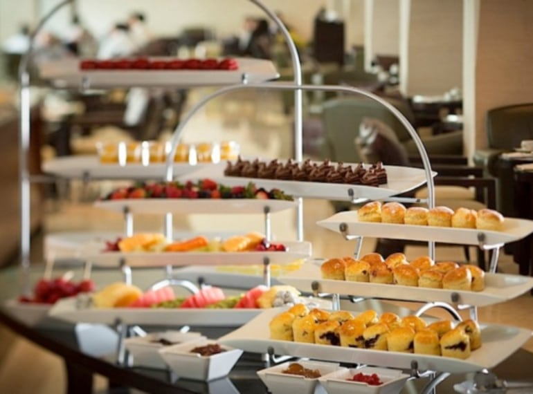 L'Espresso at Goodwood Park Hotel offers one of the best afternoon teas in Singapore
