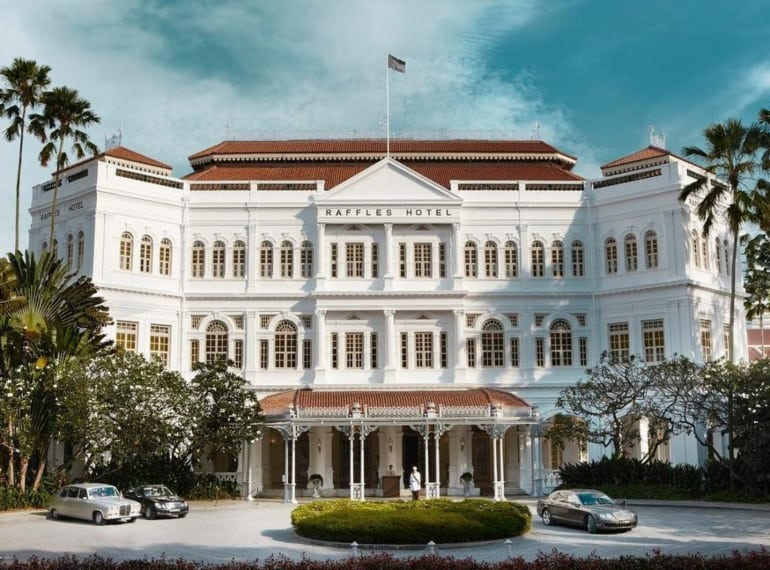 Raffles Singapore is one of the best places for afternoon tea in Singapore