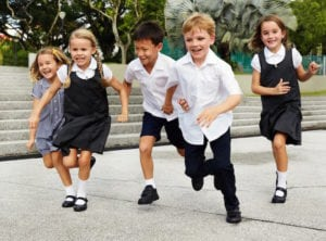 School shoes in Singapore
