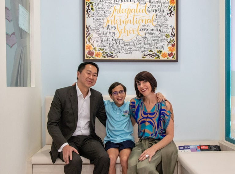 Integrated International School Parent testimonial: A school where success is redefined
