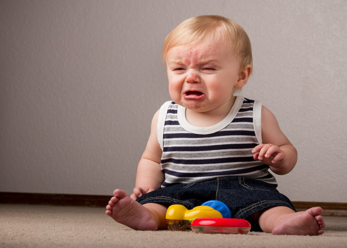 Baby crying | How to stay zen through the terrible twos