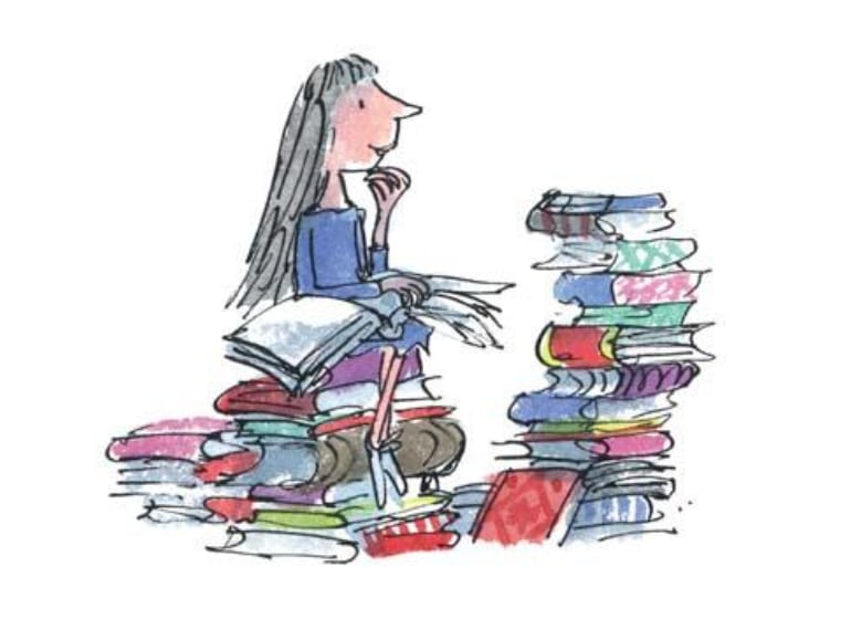 Matilda Roald Dahl Day books