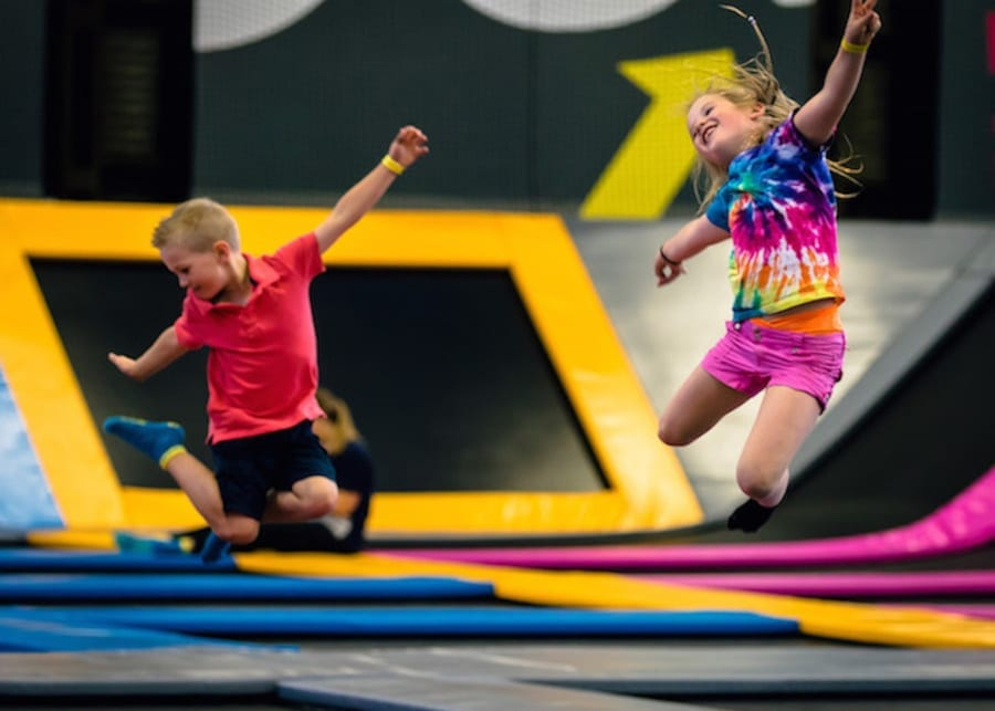 BOUNCE trampoline centre - an indoor play centre for kids in Singapore