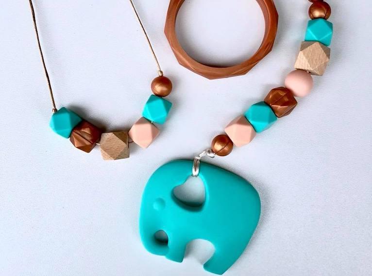 Teething-jewellery