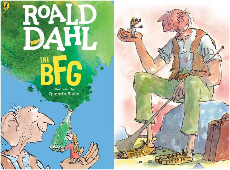 bfg roald dahl day books