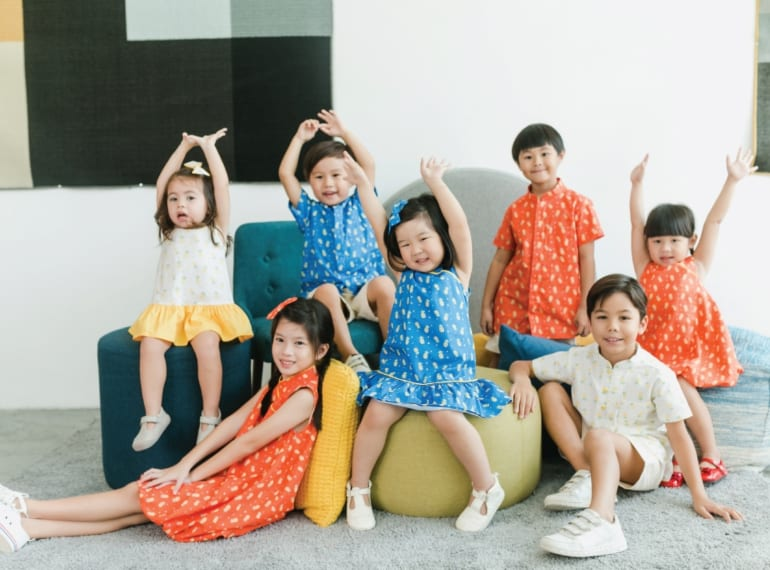 Cheongsams and Mandarin-collars for kids