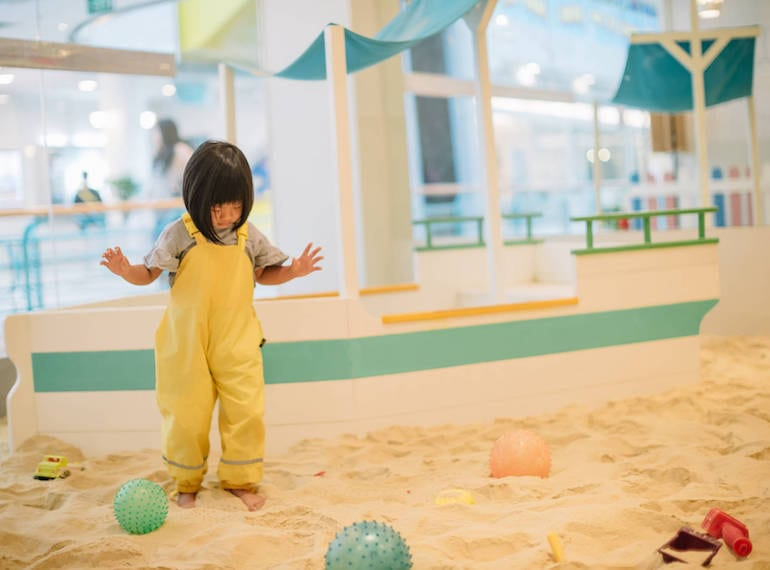 sandydandy Indoor play centres for kids Honeykids Asia Singapore