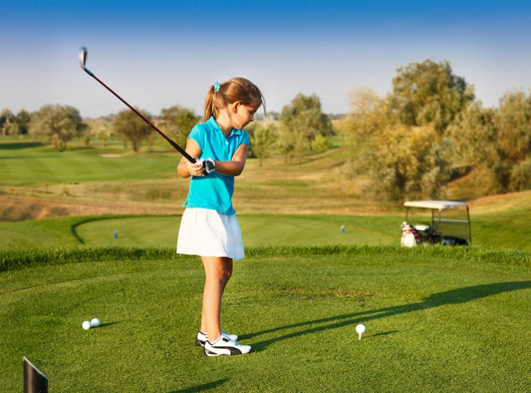 Tee off at the best golf courses with golf lessons for kids in Singapore