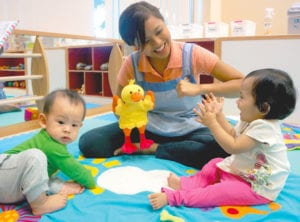 Learning Vision Playgroup Honeykids Asia Singapore