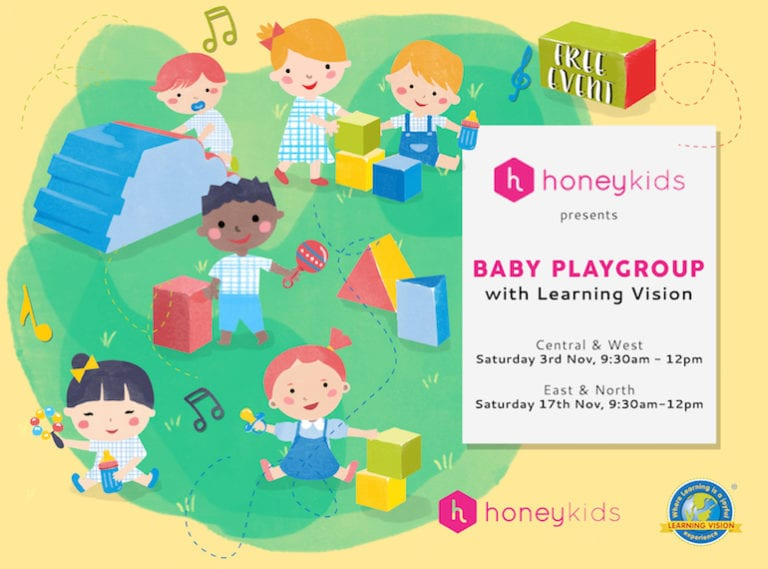 You're invited to the HoneyKids Playgroup! Four locations, two dates and a ton of free fun!