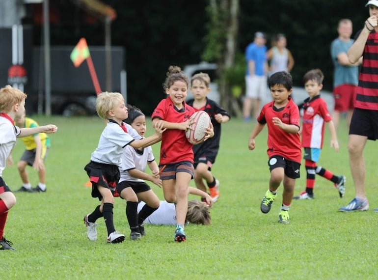 Tanglin Rugby Club for kids Honeykids Asia Singapore