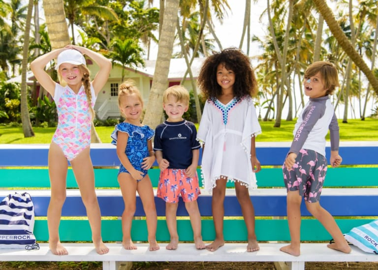 Swimsuits, rashies and board shorts, oh my! Where to buy kids swimwear in Singapore